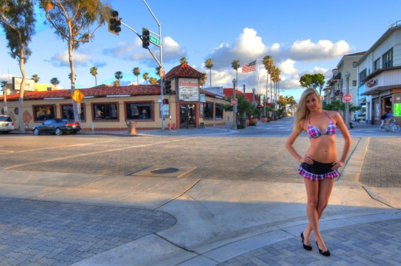 Balboa Peninsula, Newport Beach, California USA May 16, 2011 HD Photo Tours Amanda Shorehouse Cafe