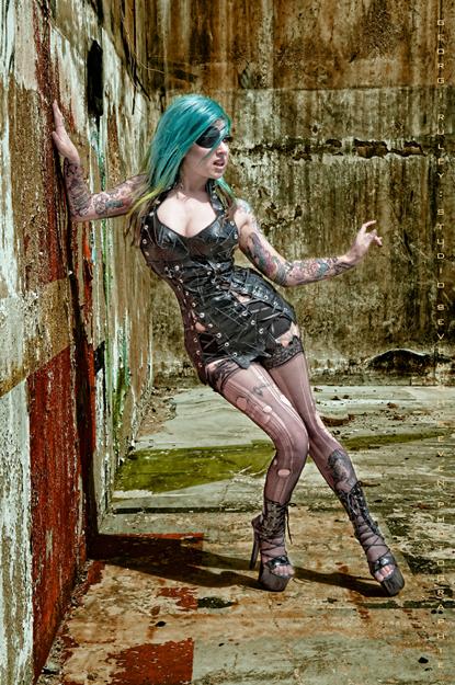 May 16, 2011 Photographer: Georgi Campbell-Ruley Wasteland Raider Dress