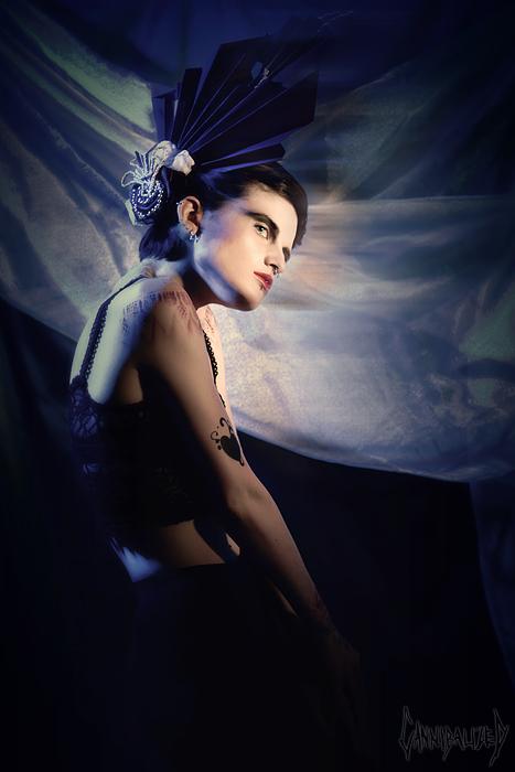 Quincy, Ma May 16, 2011 @krystal layton/cannibalized Annika, Nikk Noir- MUA, Hair, Stylist
