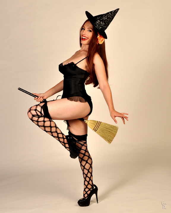 May 16, 2011 classic pinup Lucky Broom...