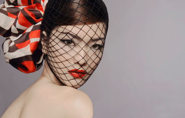 HK Studio May 17, 2011 Photo by Huy Khiem, Makeup/hair by Gordon Banh Judy Ly - Beauty Shoot for Gordon Banh