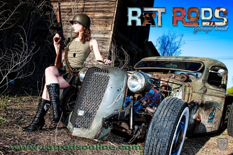 Waite Park, MN May 18, 2011 2011 Gargage Fossil.com Girls of the Ratrod Revolution-Allie