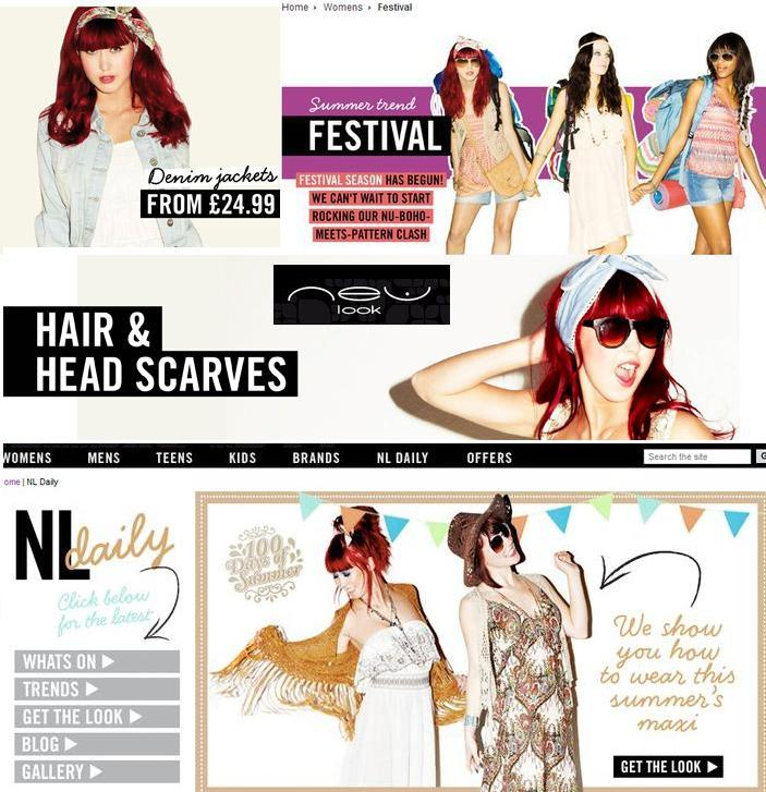 May 19, 2011 www.newlook.com New Look Website Cut outs.