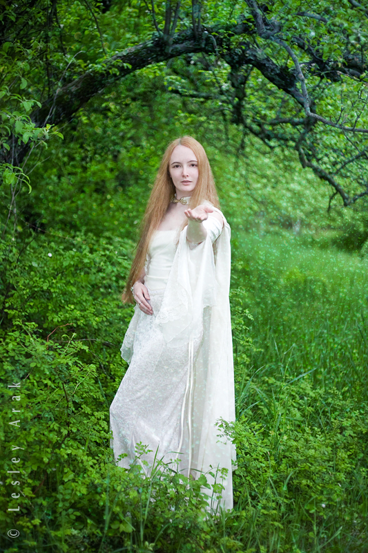 in the orchard May 19, 2011 Lesley Arak Galadriel...?