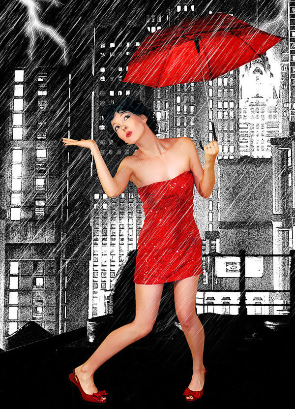 May 19, 2011 Singing in the Rain!