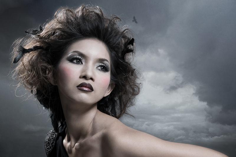 Female model photo shoot of somrutai sreenak by pjwalczak in bangkok