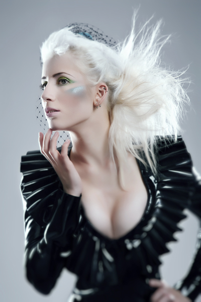 May 20, 2011 Julian Kilsby (model Aerynn) Jacket http://www.kaorislatexdreams.com/shop/ruffled-jacket/