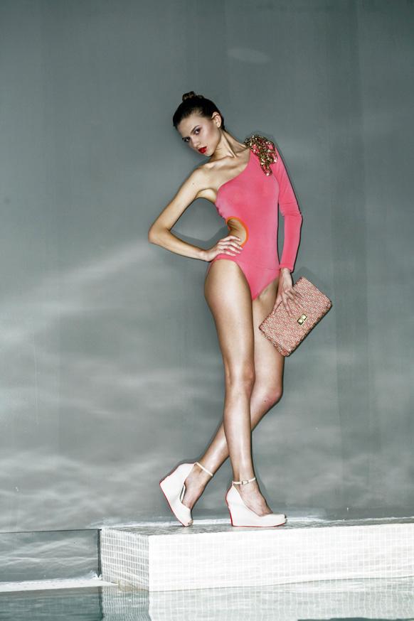 Female model photo shoot of AnnaGala in Milano