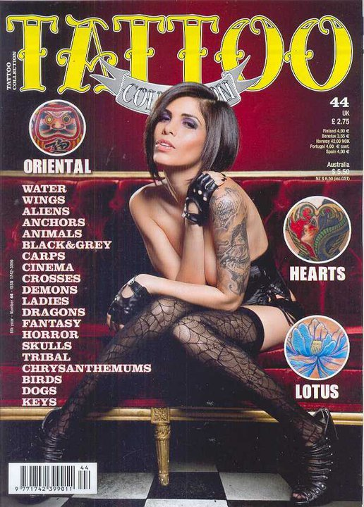 May 21, 2011 Cover of Tattoo Collection