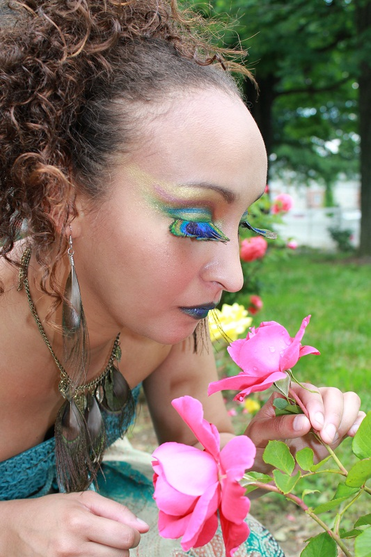 Female model photo shoot of Makeup by K