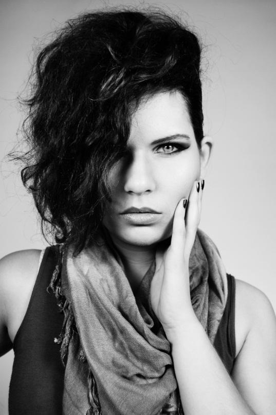 Female model photo shoot of Agnes Mora Art