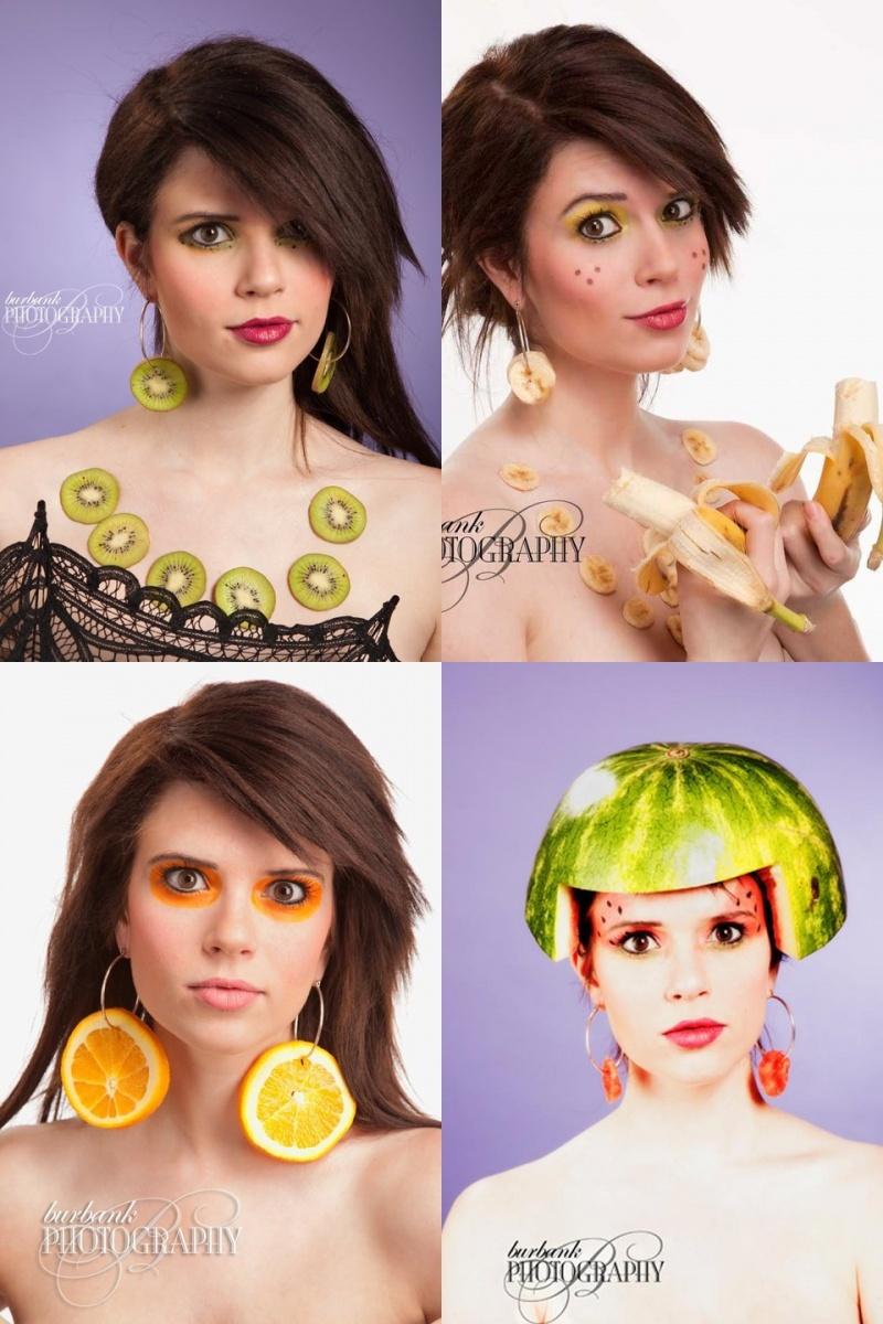 May 22, 2011 Burbank Photography The Fruit Shoot - MUA myself