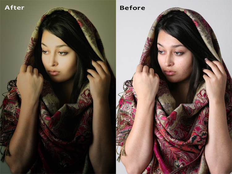 Female model photo shoot of IMI Retouching and Frosan Baggins by sk_img