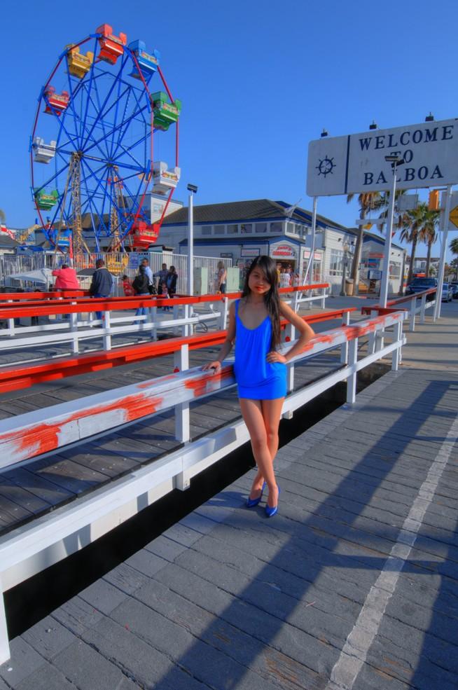 Balboa Peninsula, Newport Beach, California USA May 24, 2011 HD Photo Tours Angel in Balboa