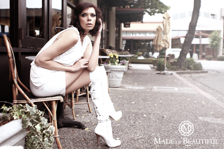 Female model photo shoot of Elizabeth Martinez and Lola Burlitz by MADE OF BEAUTIFUL