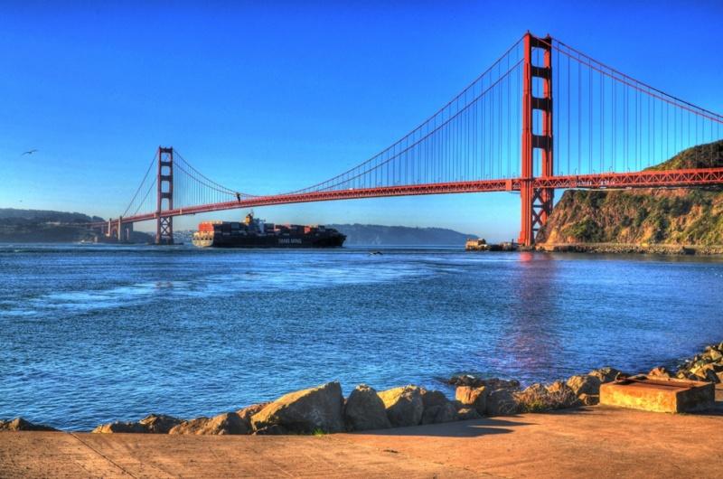San Francisco, California, USA May 28, 2011 HD Photo Tours Golden Gate Bridge