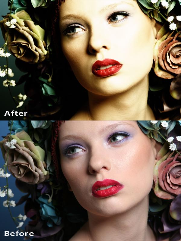 Female model photo shoot of IMI Retouching by DANACOLE