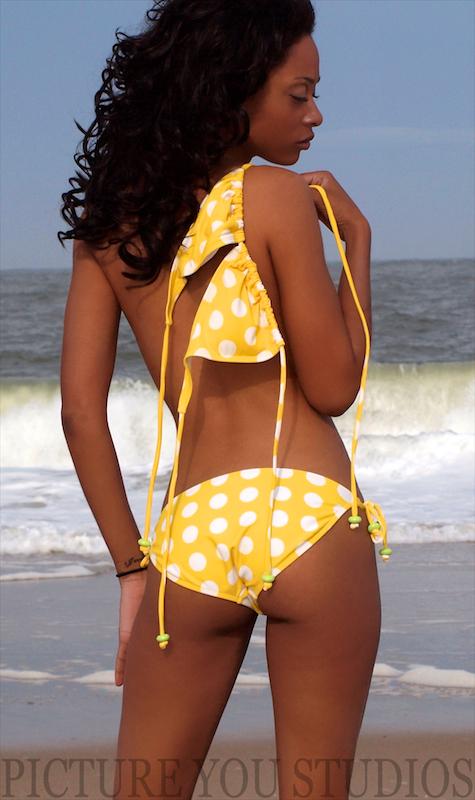 Cape Henlopen, DE. Jun 01, 2011 PICTURE YOU STUDIOS Julia rockin her yellow bikini.
