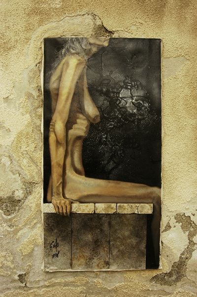 "Toronto Jun 02, 2011 FV PHOTOARTS A Wall for ""Contemporary Venus"" by Shahram Safe."