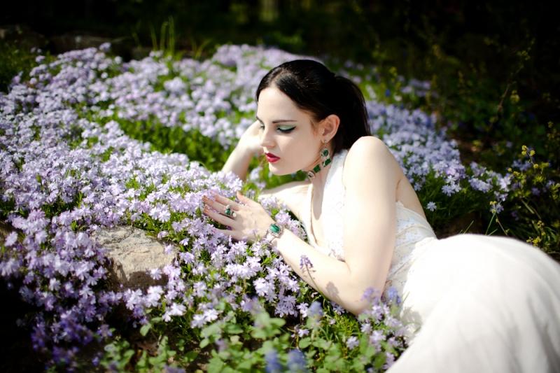 Female model photo shoot of Savina Marie by jarvie