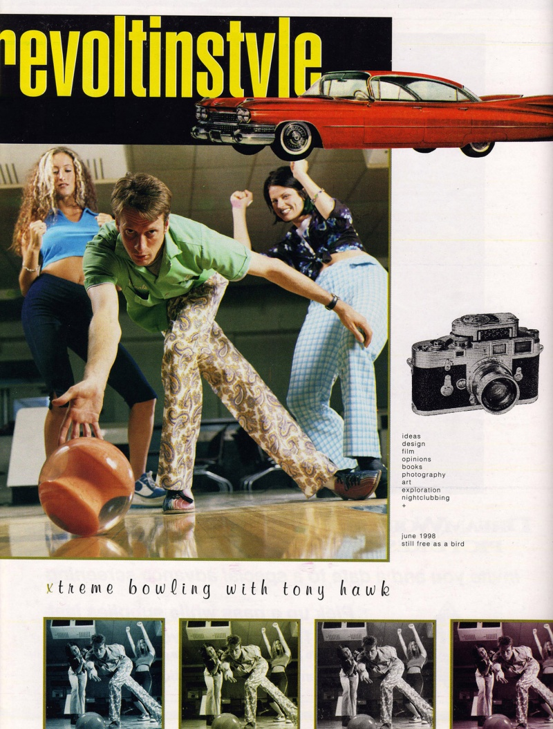 Jun 03, 2011 yes Tony Hawk for Revolt In Style magazine June 1998 Cover