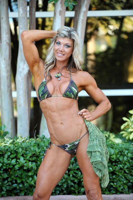 Female model photo shoot of hOllYBeck IFBB Pro