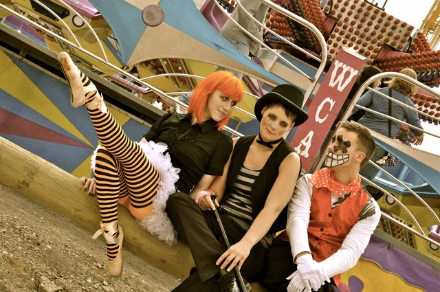 Cloverdale Fair 2011 Jun 04, 2011 Serena D. Wacky Clown Avenue-Product of two model flakes and a cancelled MUA!