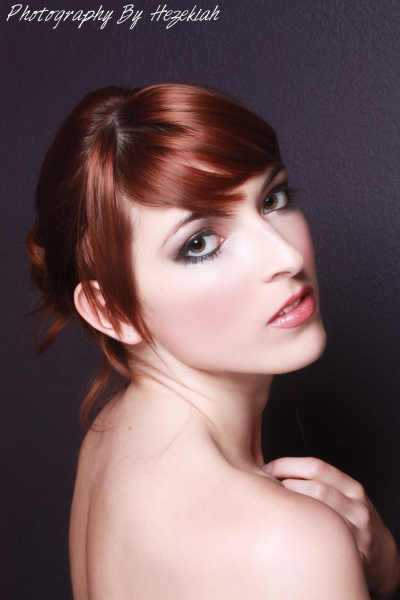 Female model photo shoot of Makeup by April Wilson and Kathryn Steward by Eturnal Image