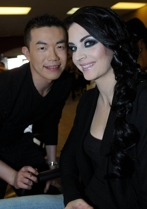 Jun 06, 2011 w/ the amazing MUA Tommy Chiang :)