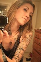 Female model photo shoot of Vixin