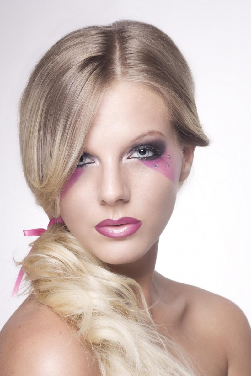 Female model photo shoot of Makeup by April Wilson and Vanessa Gerstner by Eturnal Image