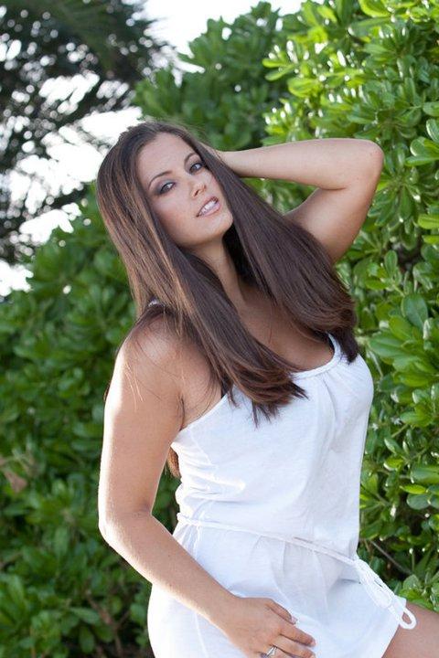 Female model photo shoot of Amanda Rose by Darryl Watanabe in Oahu, makeup by kecia Tiana