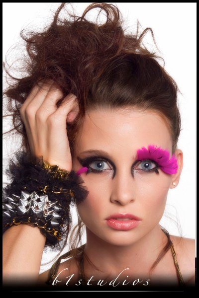 Female model photo shoot of Makeup by April Wilson and KaitG by b1 studios, wardrobe styled by Verneccia Etienne