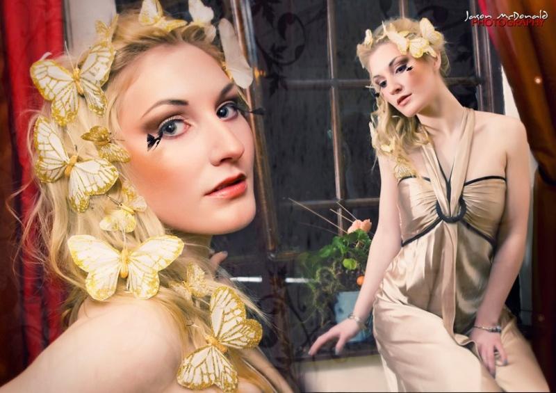 Female model photo shoot of Ciara MUA