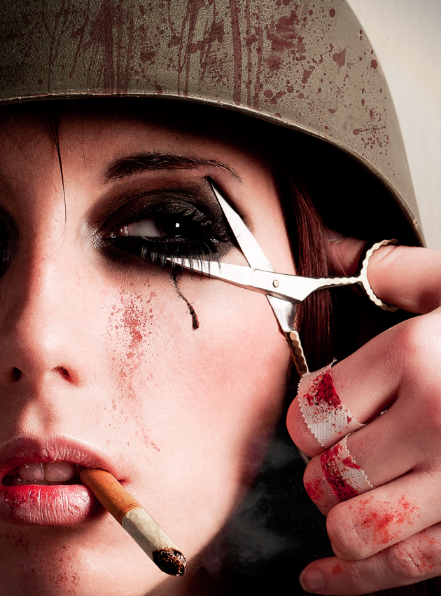 Jun 08, 2011 photo:Jessica Tedeschi MUA: Rachel Teideman model:serenitysteph/Stephanie Vincent (me)