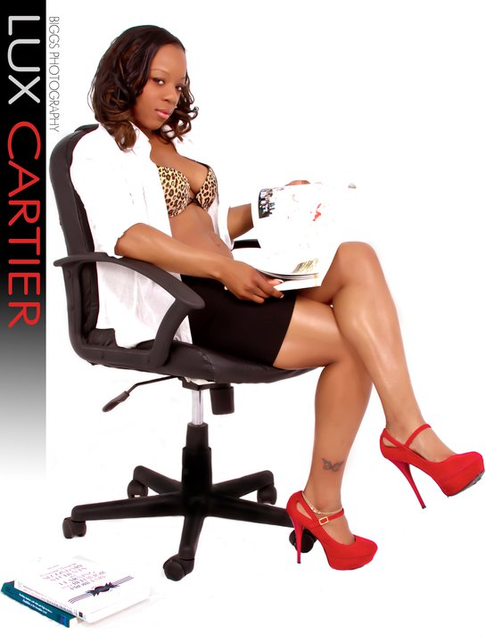 Female model photo shoot of LUX CARTIER