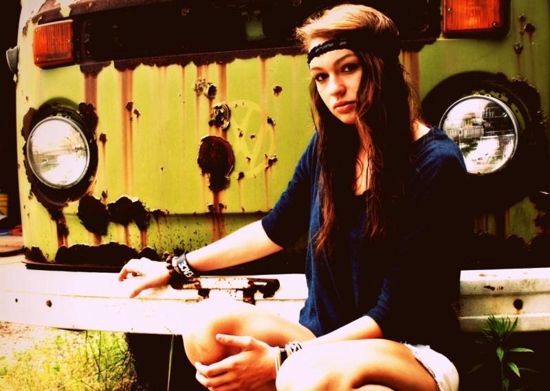 Female model photo shoot of PIC 50 in Beetle Barn