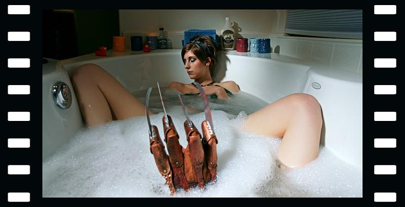 Elm Street Jun 11, 2011 Photocraft Las Vegas A Bubble Bath on Elm Street
