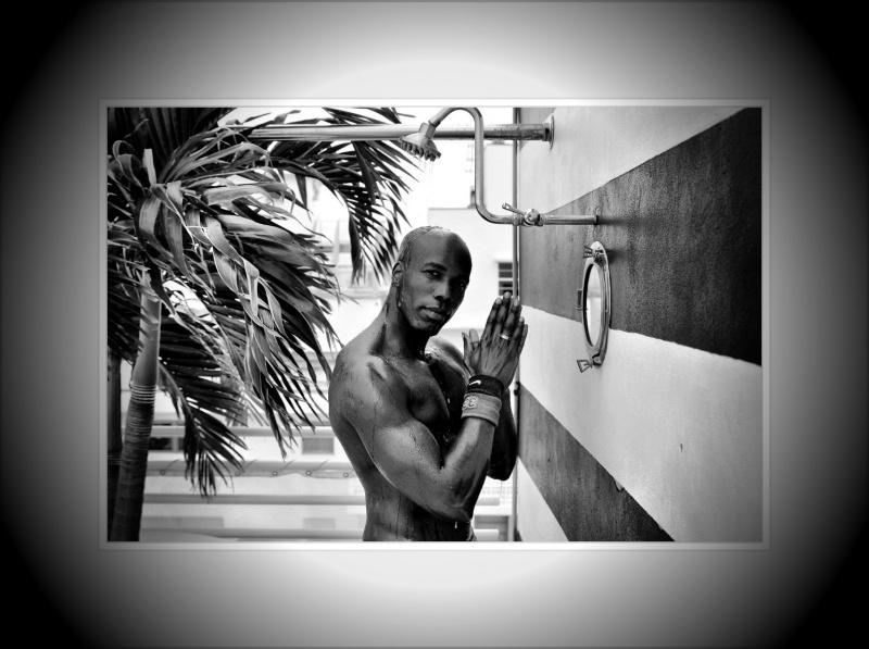 Male model photo shoot of James Wani by arrivederci in Miami beach