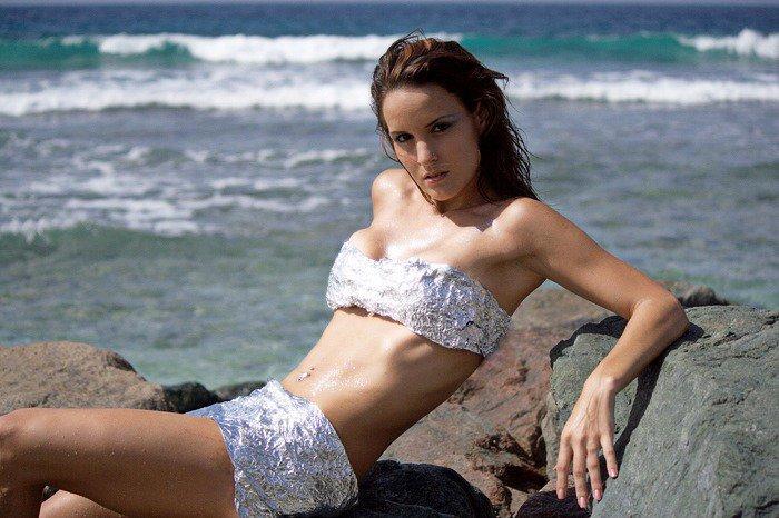 Female model photo shoot of Ariana Latina King in South Coast Beach in Barbados