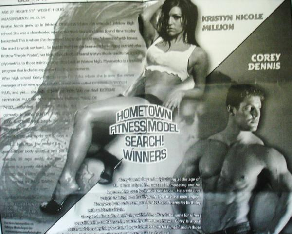 Jun 16, 2011 Fitness model search winner- SCI-FIT Magazine