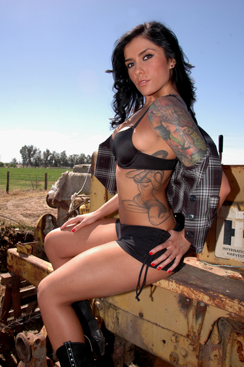 Male and Female model photo shoot of MGM PHOTOGRAPHY and Sanna XoxO in COUNTRY RANCH