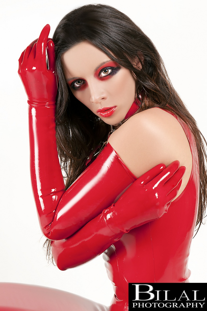 latex by syren Jun 16, 2011 bilal photo. mua ?? kerri taylor red latex