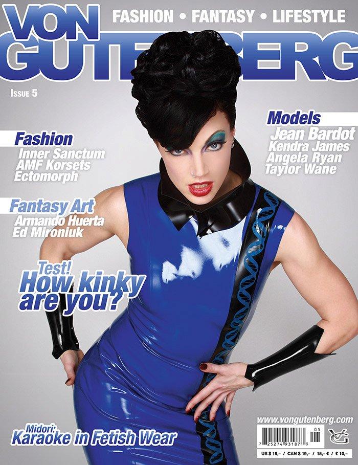 Jun 17, 2011 VonGutenberg Cover of VonGutenberg magazine