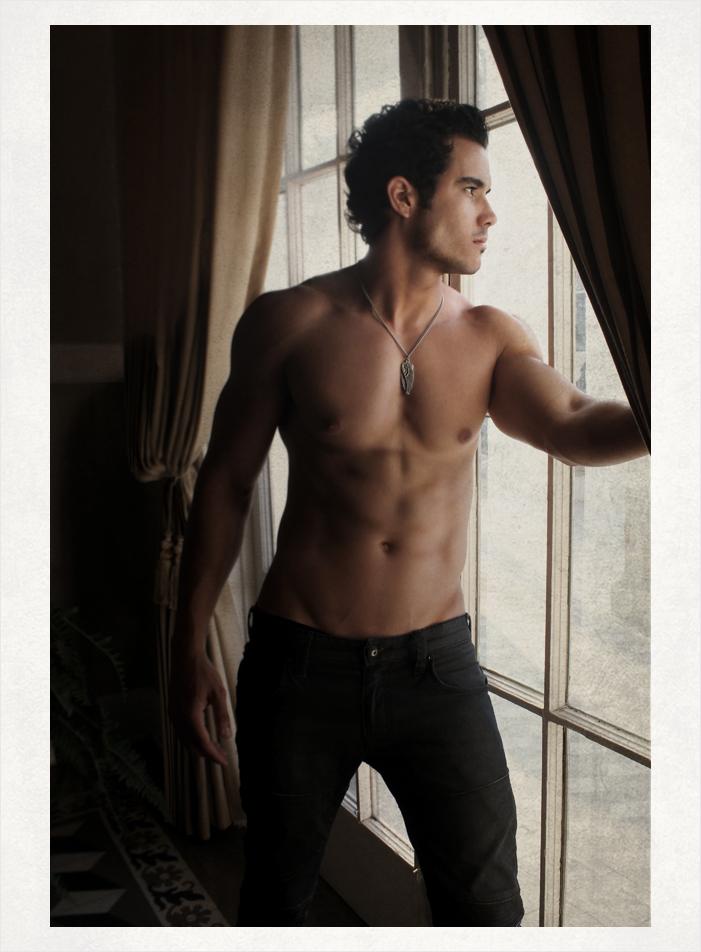 Male model photo shoot of Rayko Fernandez by  LEANDRO GONGORA in Cuban Club, YBor City