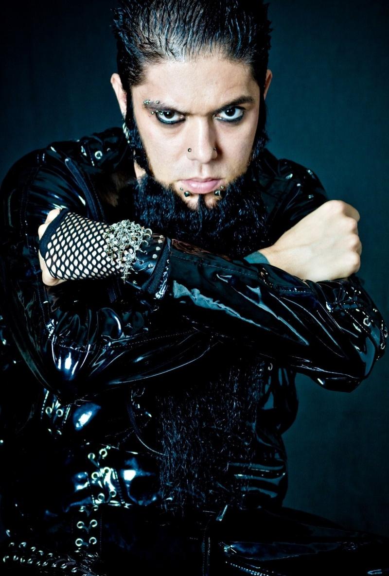 Jun 17, 2011 Chris Noel, Long Beard, Beard, Longest Beard, WWE, Goatee, Tattoos, Goth, Evil,