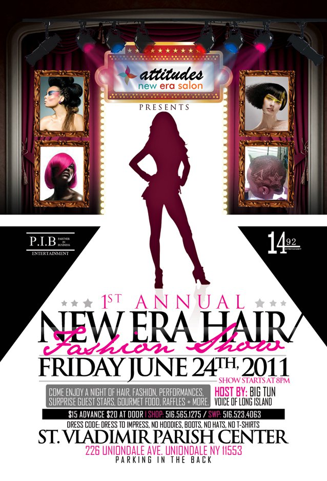 Jun 17, 2011 come join us for the new era hair /fashion show