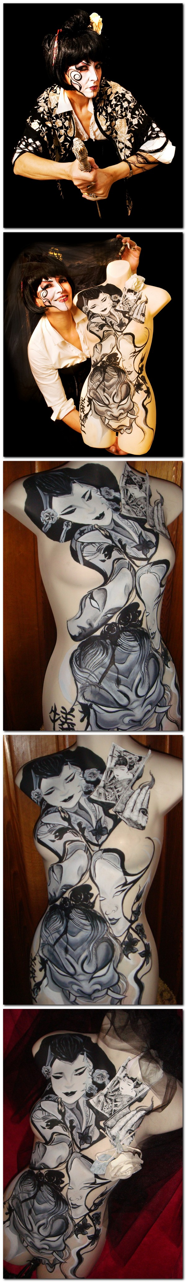 Kitchener,On Canada Jun 17, 2011 M.B modelling + bodycast painted by me Im a huge fan of my singer/actress mom : CIO-CIO-SAN/Madame Butterfly Lets take a short look at my other site MM--my artwork: # 767635