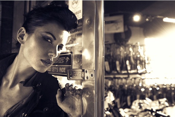 Female model photo shoot of Silvia Grenova