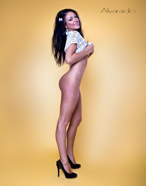 Female model photo shoot of VICTORIA LOVE in California, wardrobe styled by mandragora